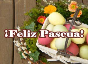 Postal de Pascua ¡Feliz Pascua!