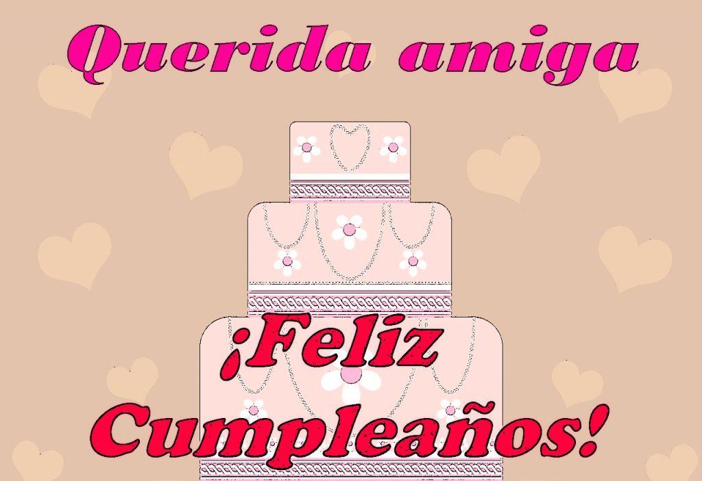 Feliz Cumpleaños para mi amiga