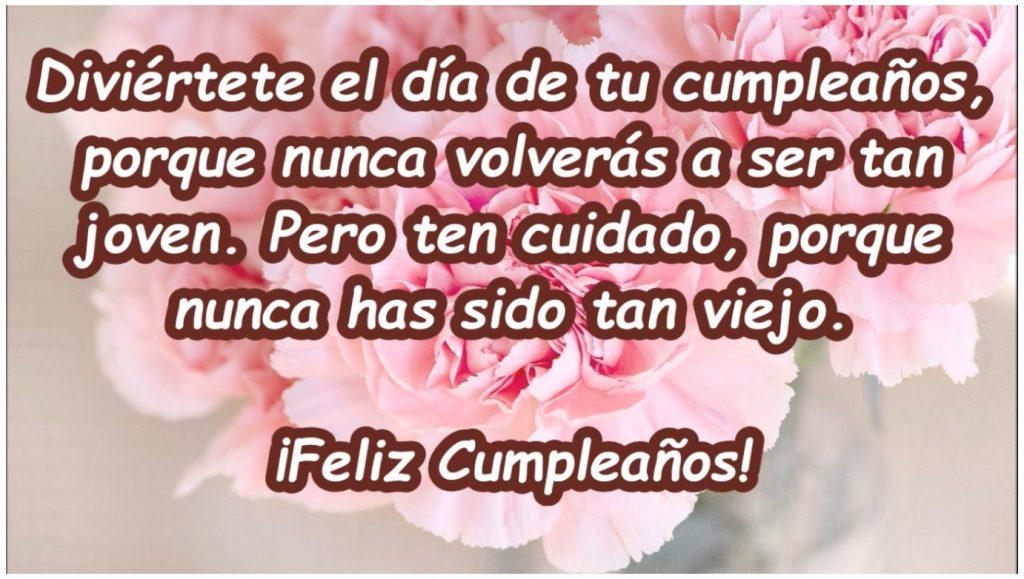 Frase de Feliz Cumpleaños para mi amiga