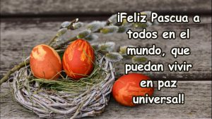 Feliz Pascua a todos en el mundo