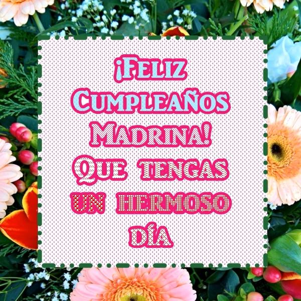 033fc3db38 Feliz Cumpleaños Madrina! Que tengas un hermoso día – Imágenes y ...