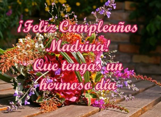 ¡Feliz Cumpleaños Madrina! Que tengas un hermoso día