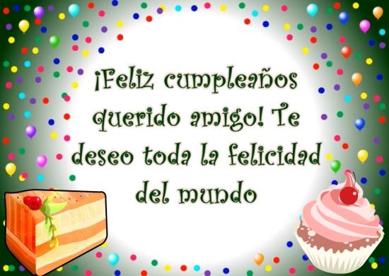 ¡Feliz cumpleaños, amigo!