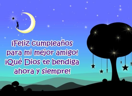 ¡Feliz cumpleaños para mi amigo especial!