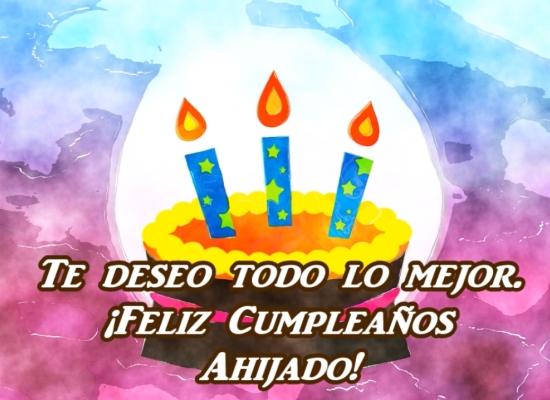 ¡Feliz cumpleaños querido ahijado!