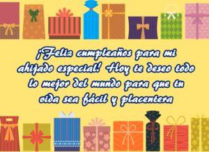 Hermosas felicitaciones para desear feliz cumpleaños ahijado