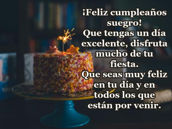 ¡Feliz cumpleaños suegro!