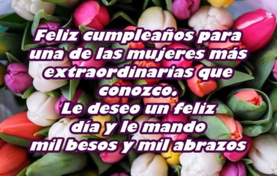 Muchas Felicidades en tu Cumpleaños suegra