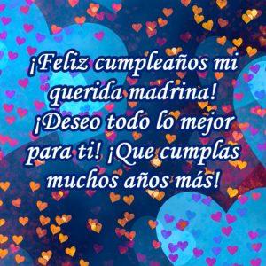 Madrina querida! Feliz cumpleaños!