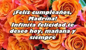 cumpleaños feliz para una madrina