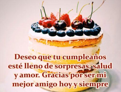 Feliz cumpleaños a mi mejor amigo