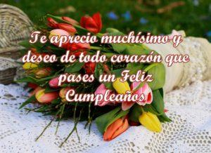 Felicitaciones de cumpleaños