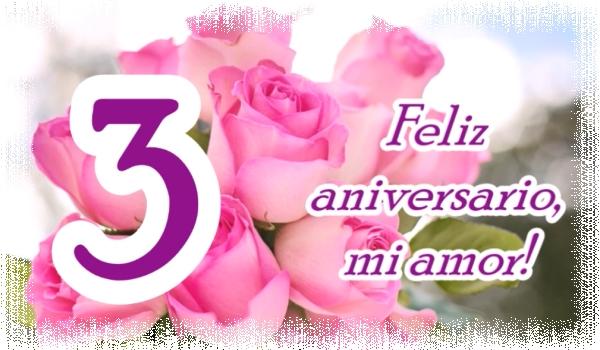 Feliz Aniversario Mi Amor: Imágenes Del 3 Aniversario De Bodas
