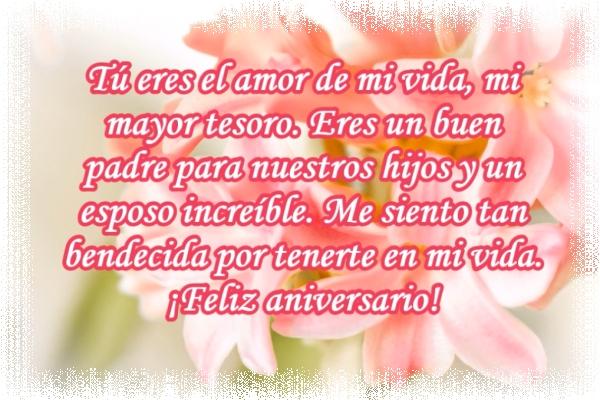 ¡Feliz aniversario, amor!