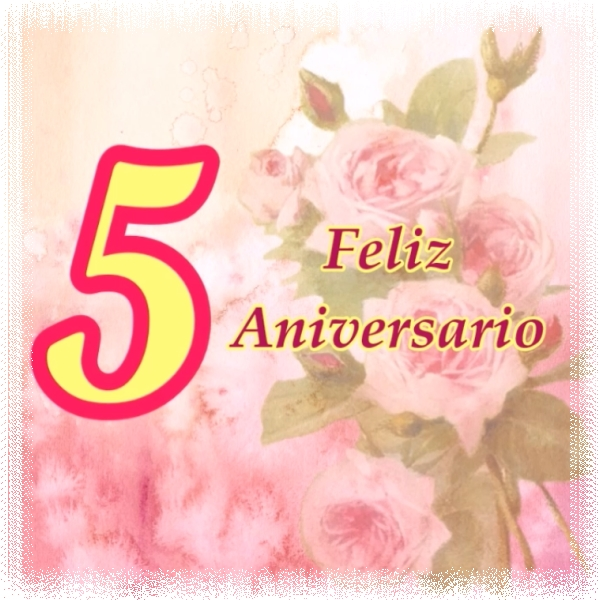 Feliz Aniversario Bodas de Madera 5 años de casados