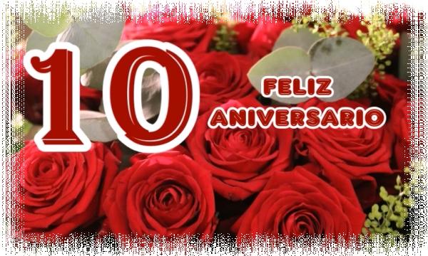 Frases De Aniversario De Casados: Feliz Aniversario Bodas De Aluminio 10 Años De Casados