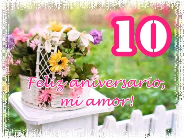 Feliz aniversario, mi amor!