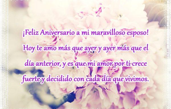 ¡Feliz aniversario!