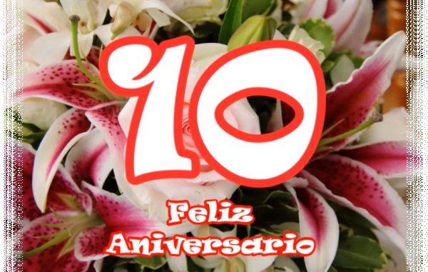10º Aniversario de bodas