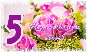Feliz aniversario amor!