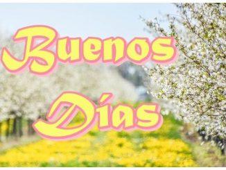Tarjeta de Buenos Días para compartir en facebook