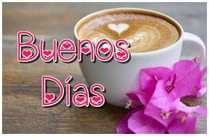 Tarjeta hermosa de Buenos Días para enviar por whatsapp