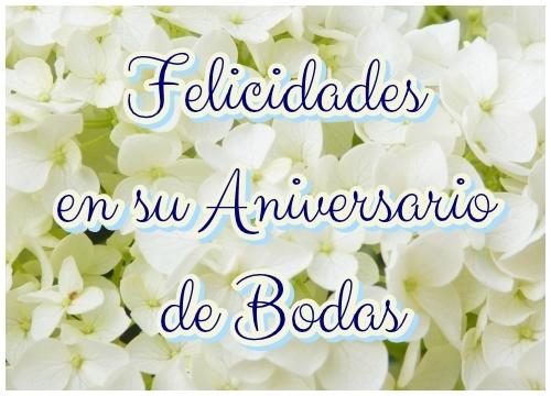 Imagen de Felicidades en su Aniversario de Bodas