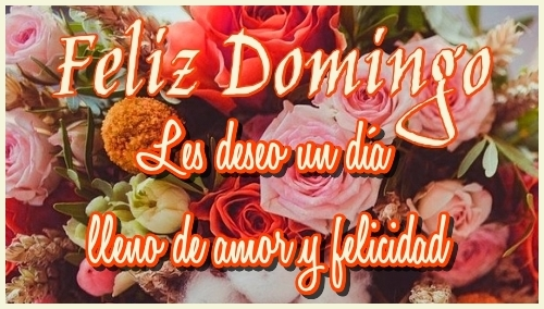 Imagen de Feliz Domingo para compartir