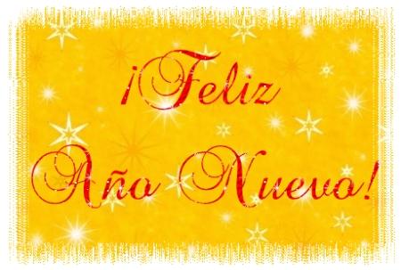 Tarjeta Feliz Año Nuevo