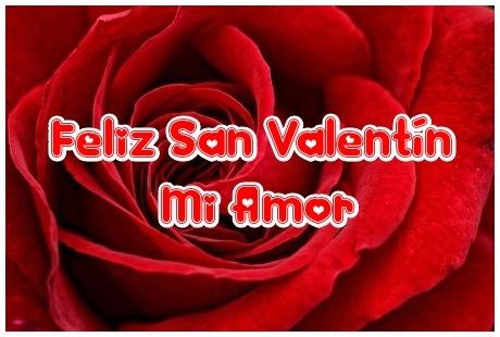 Tarjeta de San Valentín Rosa Roja