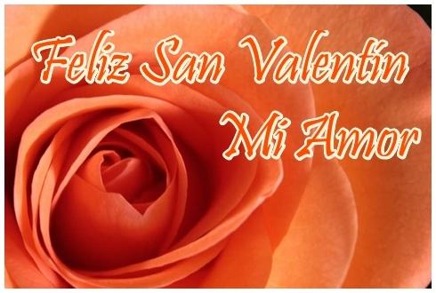 Tarjeta de San Valentín con rosa