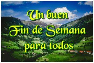Tarjeta para Desear un Feliz Fin de Semana (6)