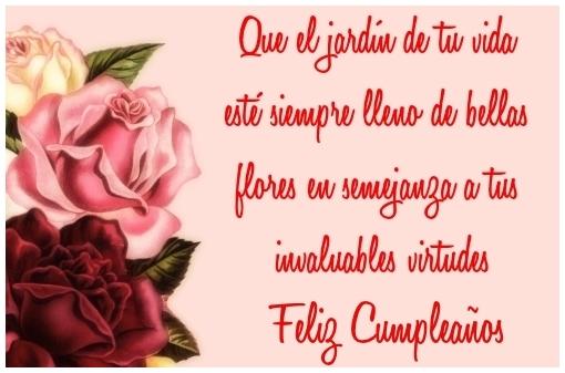 Feliz Cumpleaños Amiga Que el jardín de tu vida esté siempre lleno ...