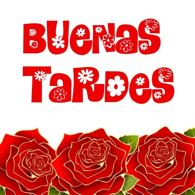 IMÁGENES DE BUENAS TARDES CON FLORES PARA WHATSAPP (2)