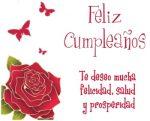 Imágenes de cumpleaños bonitas con flores para enviar gratis desde un teléfono móvil