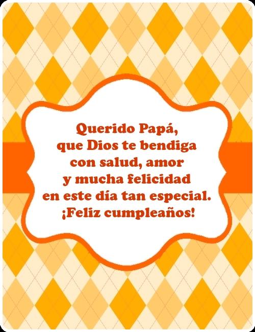 Imagenes Bonitas De Cumpleanos Para Mi Padre Imagenes Y Frases Bonitas