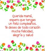 Frases y mensajes de Feliz Cumpleaños para Mamá
