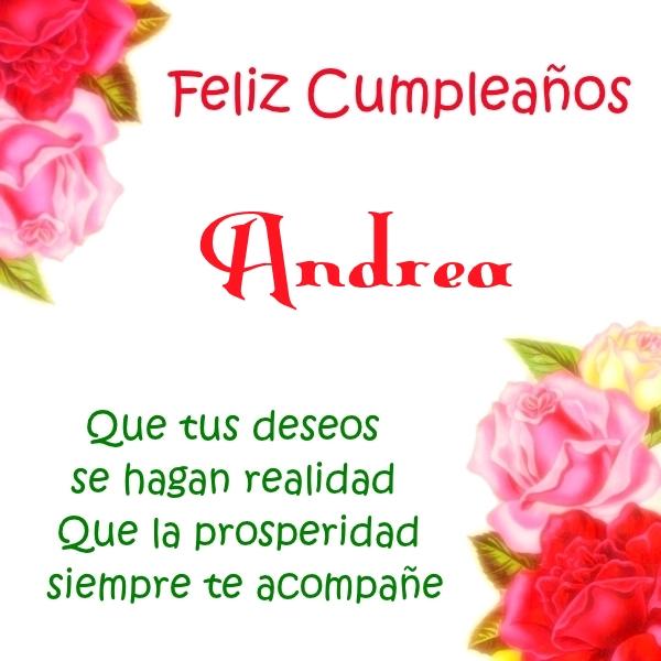 ¡Feliz Cumpleaños,Andrea! Imágenes para descargar y enviar gratis (10)