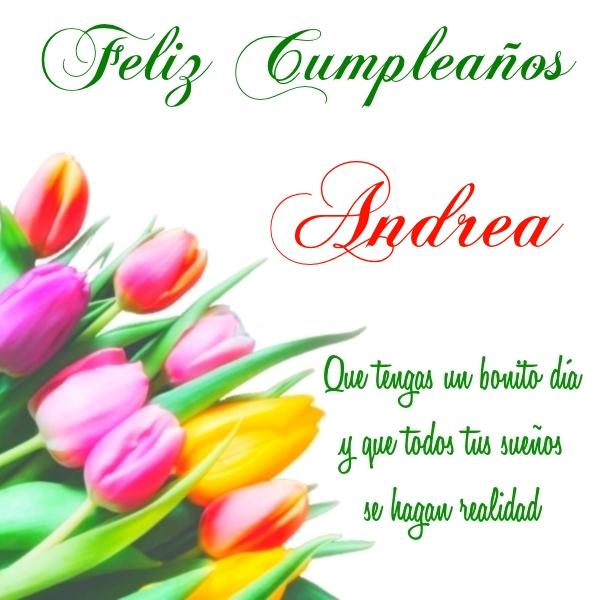 ¡Feliz Cumpleaños,Andrea! Imágenes para descargar y enviar gratis (5)