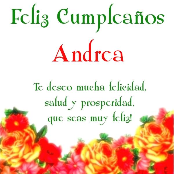 ¡Feliz Cumpleaños,Andrea! Imágenes para descargar y enviar gratis (6)
