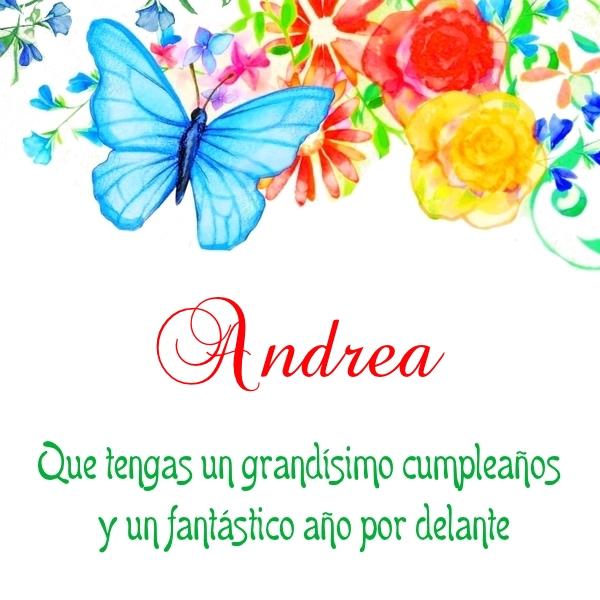 ¡Feliz Cumpleaños,Andrea! Imágenes para descargar y enviar gratis (7)