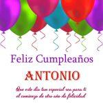 ¡Feliz Cumpleaños, Antonio! | Imágenes para descargar y enviar gratis