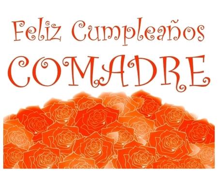 Feliz Cumpleaños Comadre - Felicitaciones de cumpleaños