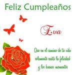 ¡Feliz Cumpleaños, Eva! | Imágenes para descargar y enviar gratis
