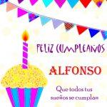 ¡Feliz Cumpleaños, Alfonso! | Imágenes para descargar y enviar gratis