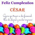 ¡Feliz Cumpleaños, César! | Imágenes para descargar y enviar gratis