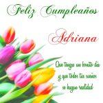 ¡Feliz Cumpleaños, Adriana! | Imágenes para descargar y enviar gratis