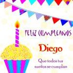 ¡Feliz Cumpleaños, Diego! | Imágenes para descargar y enviar gratis
