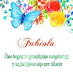 ¡Feliz Cumpleaños, Fabiola! | Imágenes para descargar y enviar gratis