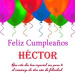 Imágenes de cumpleaños con nombre Héctor